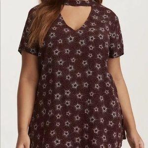 Torrid   Star tunic blouse